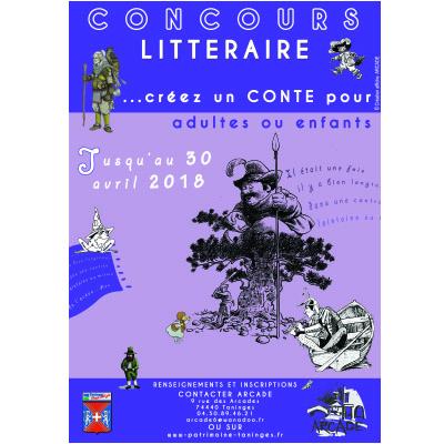 Concours de contes de l'Association ARCADE